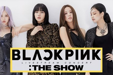 "Poster ""THE SHOW"" của BlackPink. Ảnh: Koreaboo"