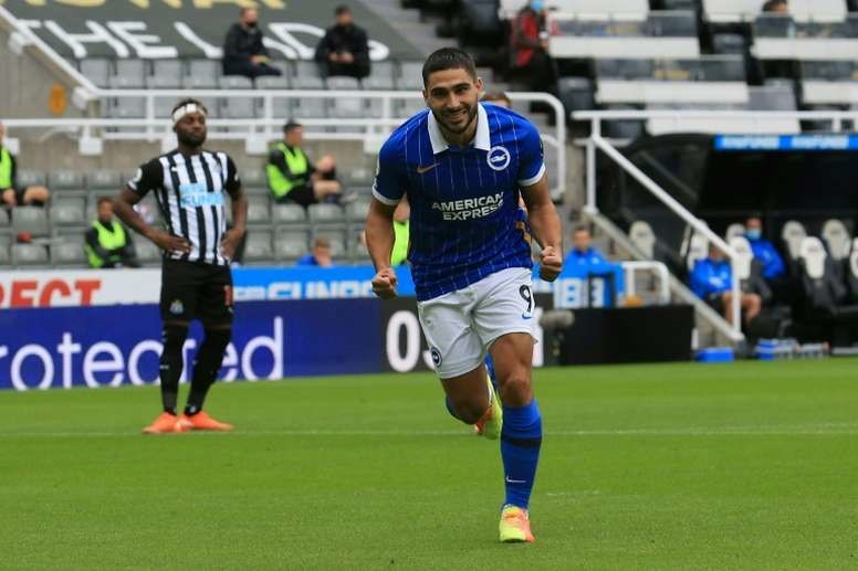 12. Neal Maupay (Brighton and Hove Albion): 7 bàn thắng