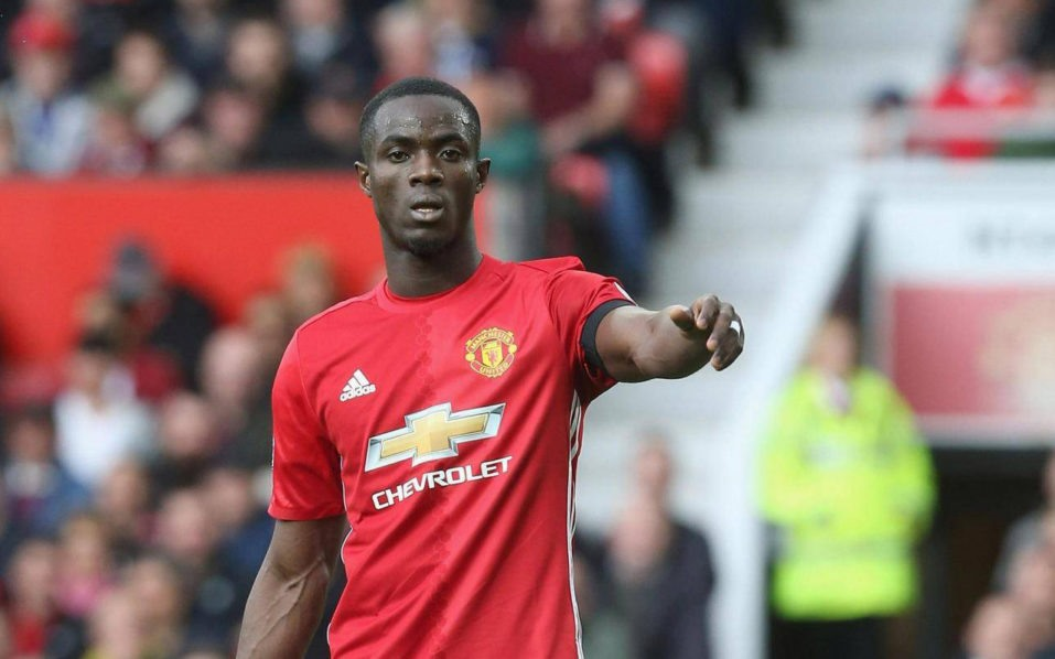 Eric Bailly (Man United). Ảnh: AFP.
