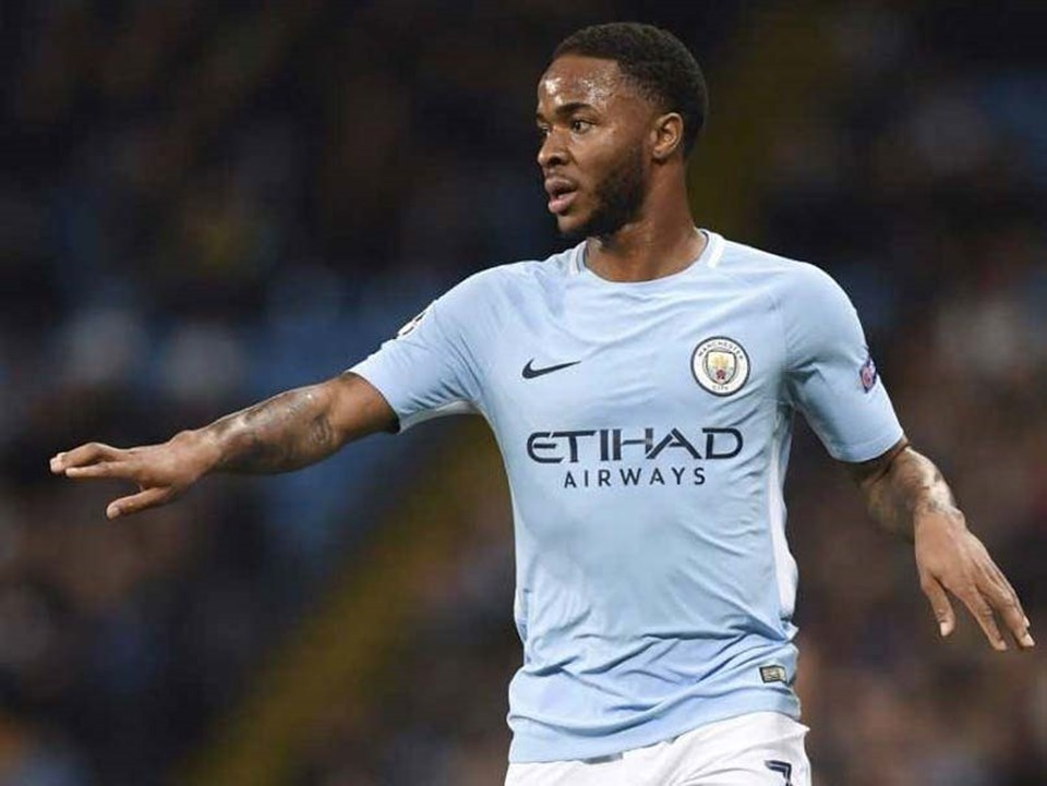 Raheem Sterling (Man City). Ảnh: AFP.